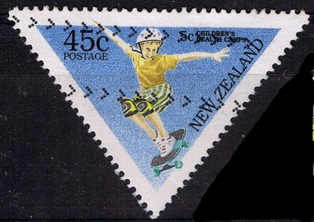 New Zealand Health 1995 Childrens Sports SG 1884 Fine Used