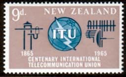 New Zealand  International Telecommunication Union Fine Mint