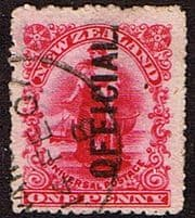 New Zealand Official Stamps 1891 - 1961