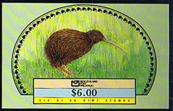 New Zealand Stamp Booklets 1977 - 2000