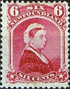 Newfoundland 1894 SG 60 Queen Victoria Good Mint