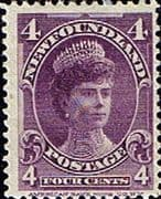 Newfoundland 1897 SG 89 Queen Mary when Duchess of York Fine Mint