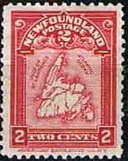 Newfoundland 1908 SG 94 Map Fine Mint