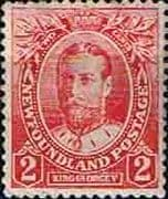 Newfoundland 1911 SG 118 Coronation King George V Fine Mint