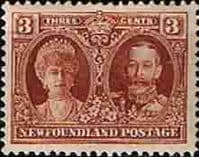 Newfoundland 1928 SG 166 King George and Queen Mary Fine Mint