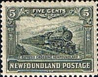 Newfoundland 1928 SG 168 Express Train Fine Mint
