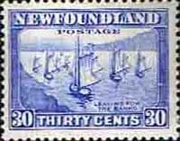 Newfoundland 1932 SG 220 Leaving for the Banks Fine Mint