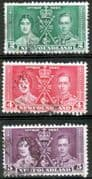 Newfoundland 1937 King George VI Coronation Fine Used