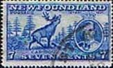 Newfoundland 1937 SG 259 King George VI Coronation Caribou Fine Used