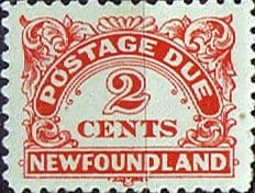 Postage Stamps Newfoundland 1939 Post Due SG D2a Fine Mint Scott J2a