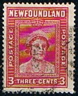 Newfoundland 1941 SG 278 Queen Mother Fine Used