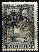 Nigeria 1936 King George V SG 37 Timber Industry Fine Used