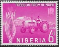 Nigeria 1963 SG 130 Freedom from Hunger Fine Mint