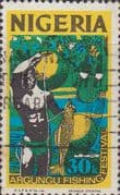 Nigeria 1973 SG 287 Argungu Fishing Fine Used