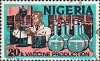 Nigeria 1975 SG 348 Vaccine Production Fine Used