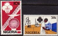 Nigeria 1980 SG 415 - 16 World Standards Day Set Fine Mint