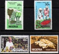 Nigeria 1981 World Food Day Set Fine Mint