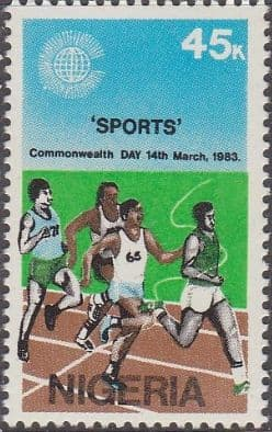 Nigeria 1983 SG 451 Commonwealth Day Set Fine Mint