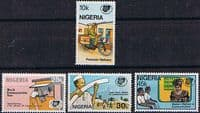 Nigeria 1983 SG 455 - 8 World Communications Year Set Fine Mint