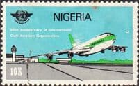 Nigeria 1984 SG 488 Civil Aviation Organization Fine Used