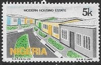 Nigeria 1986 SG 515 Modern housing estate  Fine Used