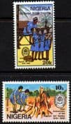 Nigeria 1989 Girl Guides Association Set Fine Mint