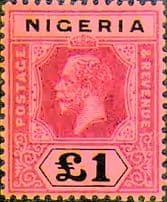 Nigeria King George V and VI