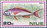Niue 1973 Fish SG 178 Fine Mint