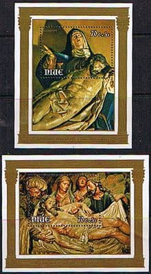 Niue Stamps 1979 Easter Children's Charity Miniature Sheet
