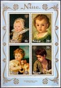 Niue 1979 International Year of the Child Miniature Sheet Fine Mint