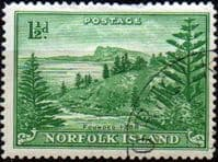 Norfolk Island 1947 Ball Bay SG  3 Fine Used