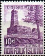 Norfolk Island 1953 Salt House SG 17 Fine Mint
