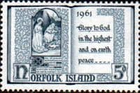 Norfolk Island 1961 Christmas SG 42 Fine Mint