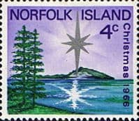 Norfolk Island 1966 Christmas SG 76 Fine Mint