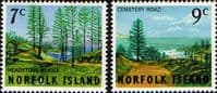 Norfolk Island 1966 Scenes Set Fine Mint