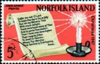 Norfolk Island 1967 Christmas Fine Used