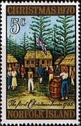Norfolk Island 1970 Christmas SG 120 Fine Mint