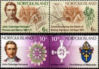 Norfolk Island 1971 Bishop Patteson Set Fine Used