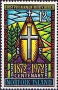 Norfolk Island 1972 First Pitcairner-built Church Fine Mint