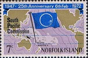 Norfolk Island 1972 South Pacific Commission Fine Mint