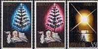 Norfolk Island 1973 Christmas Set Fine Mint