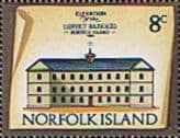 Norfolk Island 1973 Historic Buildings SG 139 Fine Mint