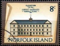 Norfolk Island 1973 Historic Buildings SG 139 Fine Used