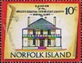 Norfolk Island 1973 Historic Buildings SG 140 Fine Mint