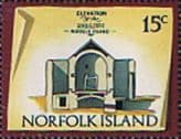 Norfolk Island 1973 Historic Buildings SG 143 Fine Mint