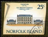 Norfolk Island 1973 Historic Buildings SG 145 Fine Used