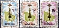 Norfolk Island 1975 Christmas Set Fine Used