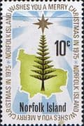 Norfolk Island 1975 Christmas SG 165 Fine Mint
