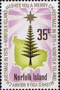 Norfolk Island 1975 Christmas SG 167 Fine Mint