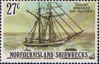 Norfolk Island 1982 Shipwrecks SG 287 Fine Mint